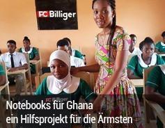 Notebooks für Ghana ein Hilfsprojekt für die Ärmsten