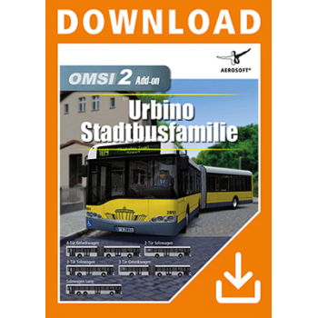 OMSI 2 Urbino Stadtbusfamilie - add-on - ESD