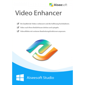 Aiseesoft Video Enhancer - Lebenslange Lizenz - ESD