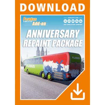Fernbus Simulator Anniversary Repaint Package DLC - ESD