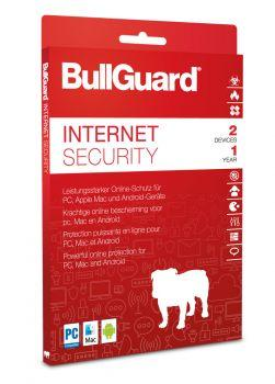 BullGuard Internet Security 2019 / 2020 - 2 User / 1 Jahr ESD