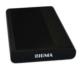 Sigma externes Festplattengehäuse 2,5 Zoll USB 3.0 S-ATA - Schwarz