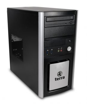 Terra Business 6100 Silent Tower PC Computer - Intel Core i5-3470 4x 3,2 GHz DVD-Brenner ASUS HD5450