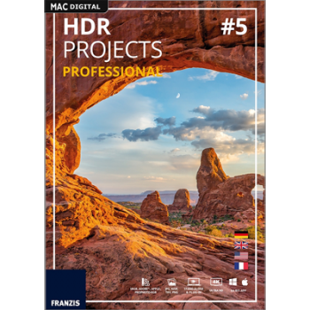 Franzis HDR projects 5 professional - ESD