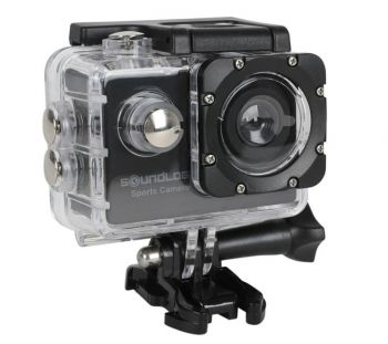 Soundlogic Action Pro 1080P Ultra HD Sports Camera - Full HD Action Cam