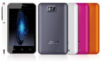 Easypix Easyphone EP5 5 Zoll Smartphone Dual-Core 1,2GHz 4GB 1GB Android Wechselcover