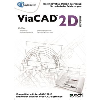Avanquest ViaCAD 2D Version 10 (Mac) - ESD