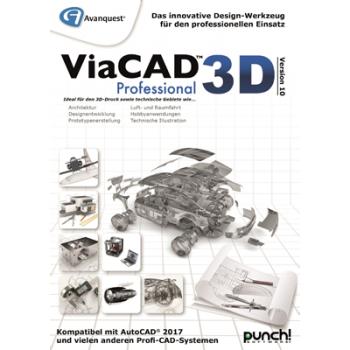 Avanquest ViaCAD 3D Professional Version 10 (Mac) - ESD