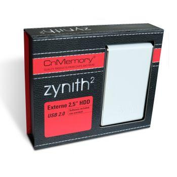 CnMemory Zynith 2 - Externes USB 2,5 Zoll Festplattengehäuse