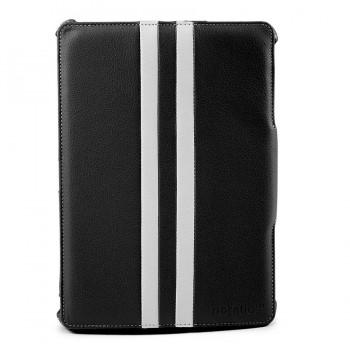 Noratio Smart Cover - Retro Style für Galaxy Note 2014 Edition / TapPRO 10.1 - schwarz