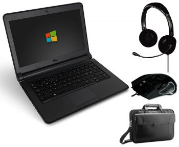 Dell Latitude 3350 13,3 Zoll Laptop Notebook Gaming Bundle - Intel Core i5-5200U 2x 2,2 GHz WebCam