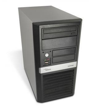 Fujitsu Esprimo P5625 Tower PC Computer - AMD Athlon X2-4450e 2x 2,3 GHz