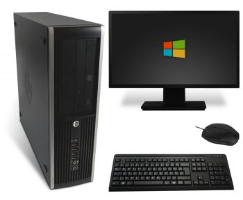 HP Elite 8200 SFF PC Computer Bundle - Intel Core i3-2100 2x 3,1 GHz DVD-Brenner