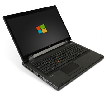 HP Elitebook 8760w 17,3 Zoll HD+ Laptop Notebook - Intel Core i5-2520M 2x 2,5 GHz DVD-Brenner