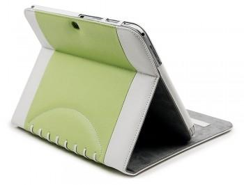 Noratio Smart Cover Footballstyle für Galaxy Tab 4 / 3 - 10.1 - Grün