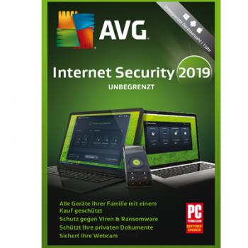 Internet Security (2019) - Unbegrenzte Geräte / 1 Jahr  - ESD