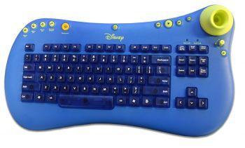 Disney Tastatur KU-0428 PS/2 PC Tastatur - Blau / Gelb