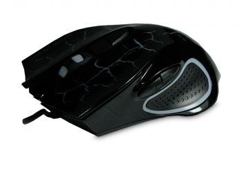 Souris AK896 Gamer-Maus - Schwarz mit Muster