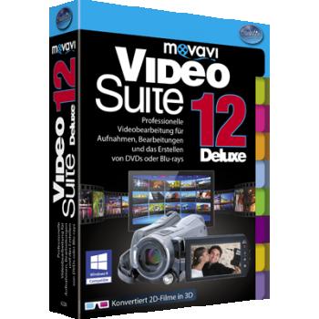 Movavi Video Suite 12 Deluxe - ESD