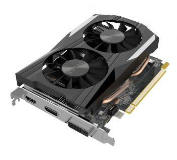 Nvidia GeForce GTX 1050 Grafikkarte mit 4GB GDDR5 Speicher - 1x DVI 1x DisplayPort 1x HDMI