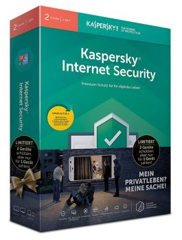 Kaspersky Internet Security 2019 Limited Edition - 2 Geräte / 1 Jahr